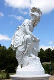 女神雕象在Schwetzingen 库存图片