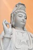 女神雕象 免版税库存照片