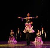 女神以色列民间舞蹈这奥地利的世界舞蹈 库存图片