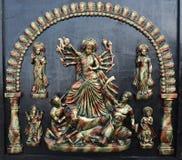 女神Durga 图库摄影