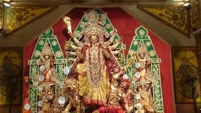 女神Durga 免版税图库摄影