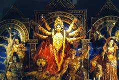 女神Durga 库存图片