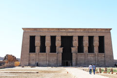 女神Hathor的寺庙 免版税库存照片