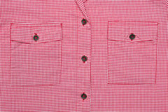 女衬衫口袋 免版税库存图片