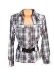 女衬衫现代白色 免版税图库摄影