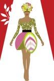 女装设计环境方式 库存图片