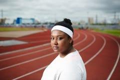 女运动员 库存图片