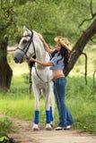 女骑士 免版税库存图片
