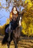女骑士 库存图片