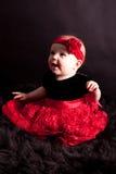 女婴…裙子 免版税库存图片