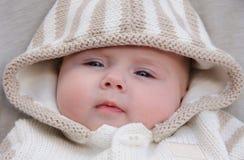 女婴画象 免版税库存图片