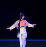 """女仆这紫色簪子--江西linchuan† opera""""four梦想  库存图片"""