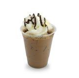 奶油冰了被鞭打的上等咖啡 免版税库存图片