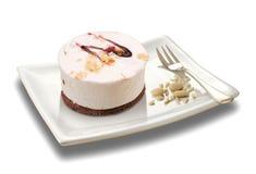 奶油甜点用杏仁 图库摄影