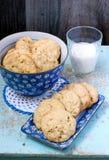 奶油硬糖曲奇饼 库存照片