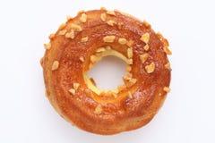 奶油色三明治薄脆饼干,多福饼 免版税图库摄影