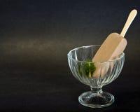 奶油色乳脂软糖冰时新商品 免版税图库摄影
