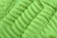 奶油色冰纹理 库存照片