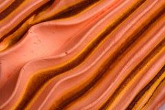 奶油色冰纹理 免版税库存图片