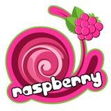 奶油色冰莓 皇族释放例证