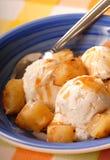 奶油色冰菠萝 免版税库存图片