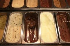 奶油色冰 库存照片