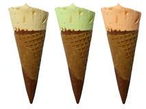 奶油色冰 免版税图库摄影
