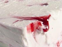奶油色冰 免版税库存图片