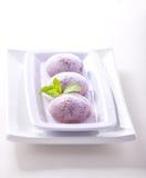 奶油色冰mochi 免版税库存照片