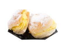 奶油色可口三明治二 免版税库存照片