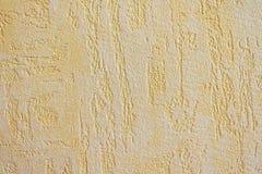 奶油色墙纸背景 免版税库存照片