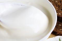 奶油色新鲜变酸 免版税图库摄影
