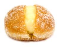 奶油色杯形蛋糕 免版税库存照片