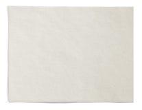 奶油色水平的纸张 免版税库存照片