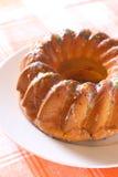 奶油色水果蛋糕 库存图片