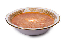 奶油色的罗宋汤变酸 免版税库存图片