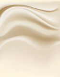 奶油色背景 免版税库存图片