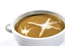 奶油色蘑菇汤 免版税库存图片