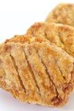 奶油被烘烤的饼 库存图片
