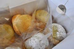 奶油饼 免版税库存图片