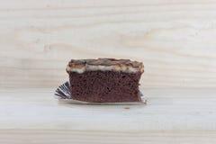 奶糖蛋糕 库存照片