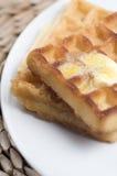 奶蛋烘饼 免版税库存照片
