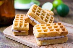 奶蛋烘饼 免版税图库摄影