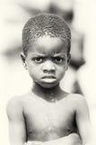 好加纳的男孩 库存图片