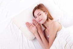 好和健康睡眠 免版税图库摄影