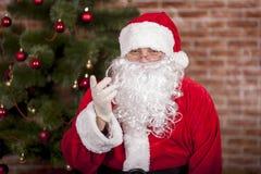 好圣诞老人 库存图片
