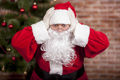 好圣诞老人 库存照片
