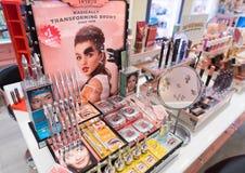 好处化妆用品在Sephora商店,吉隆坡 图库摄影