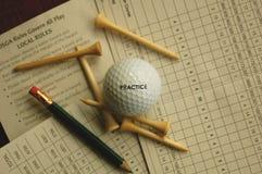 好忠告高尔夫球 免版税库存图片