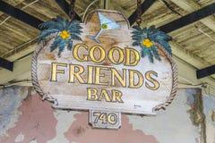 好朋友鸡尾酒酒吧在新奥尔良-新奥尔良,路易斯安那- 2016年4月18日 免版税图库摄影